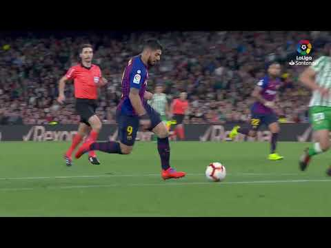 "Основные моменты ""Реал Бетис"" – ""Барселона"" (1-4)  Highlights Real Betis vs FC Barcelona (1-4)"