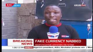Police seize fake currency in Ruiru, they claim case linked to Uhuru call fraudsters