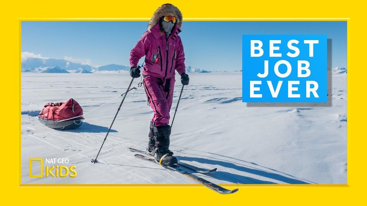 Polar Explorer: Jade Hameister | Best Job Ever