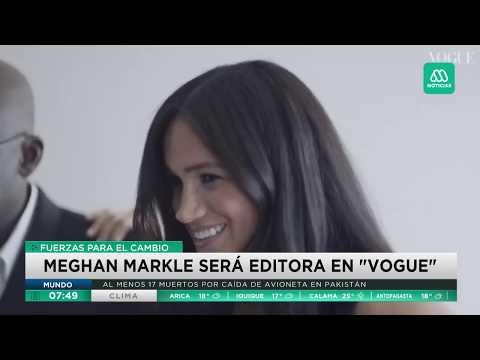 Meghan Markle Se Luce Como Editora Invitada De La Revista Vogue