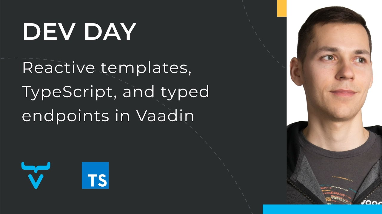 Reactive templates, TypeScript, and typed endpoints in Vaadin
