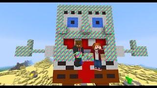 Minecraft RAINBOW Lucky Blocks (Spongebob Bikini Bottom) + OP BOSSES & OP WEAPONS | JeromeASF