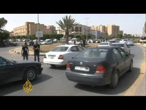 Gunmen surround Libya foreign ministry