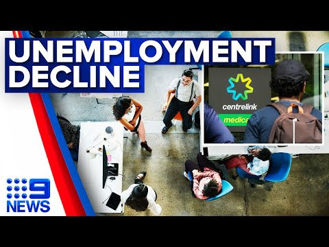 Australia's unemployment rate falls to 5.5 per cent | 9 News Australia