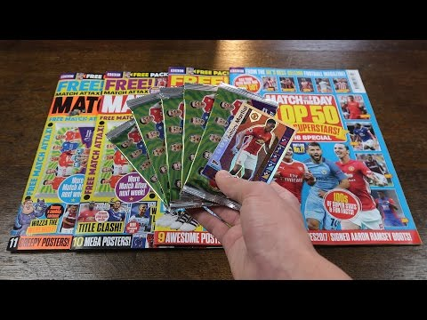 BRONZE MARTIAL! 4x Match of the Day Magazine Opening | Match Attax 2016/17