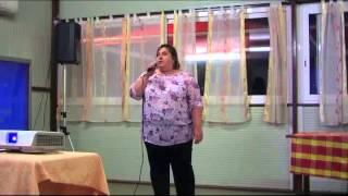 Karaoke: Romina canta Ciao Ragazzi Ciao di Celentano