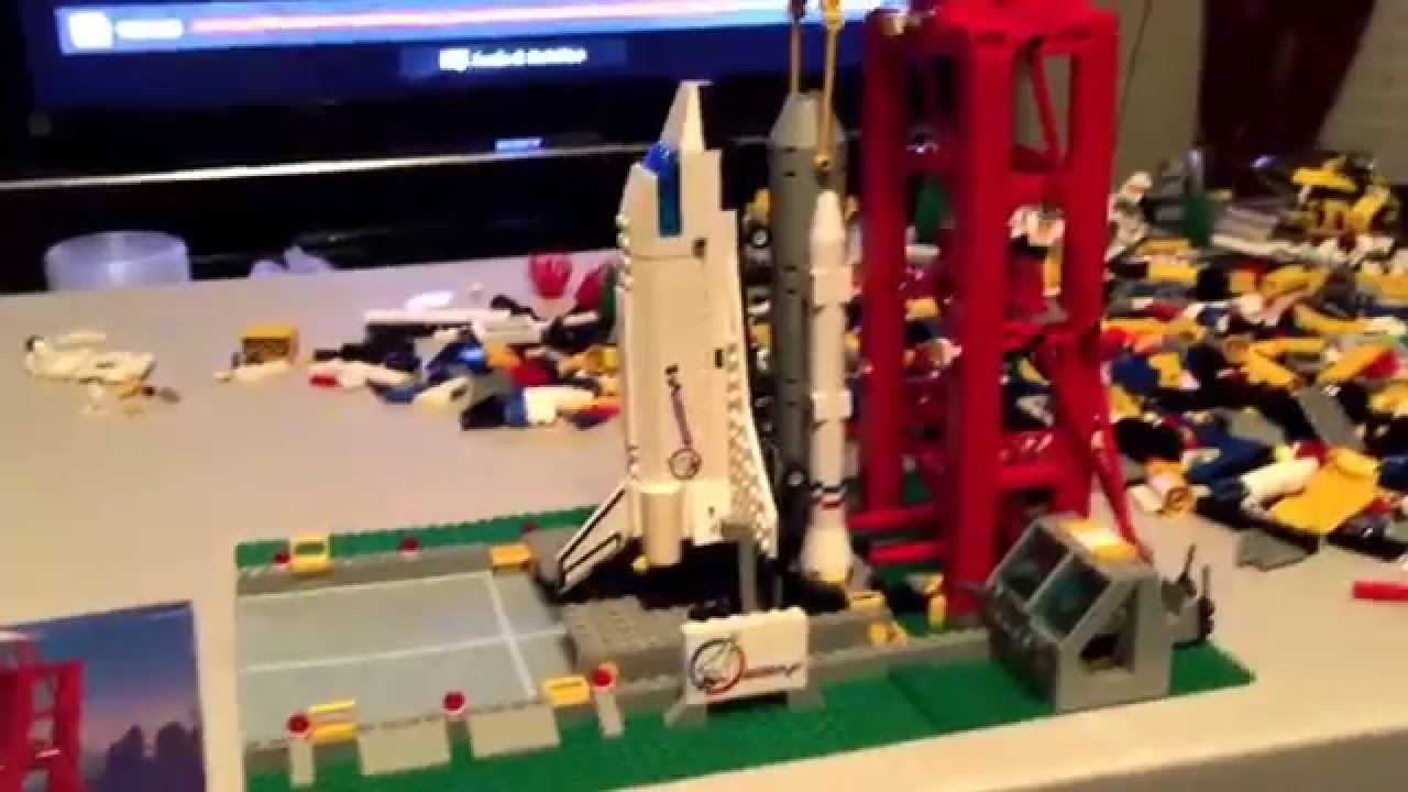 lego space shuttle launch pad 6339 - photo #5