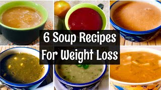 6 Winter Soup Recipes For Weight Loss | Lentil, Spinach, Beetroot, Sprouts, Pumpkin Soup Recipes