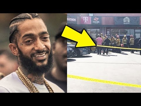 Nipsey Hussle Shot 6 Times Outside His Store