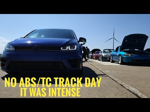 No ABS/TC/PS Track day!   WTX PCA   MK7 Golf R