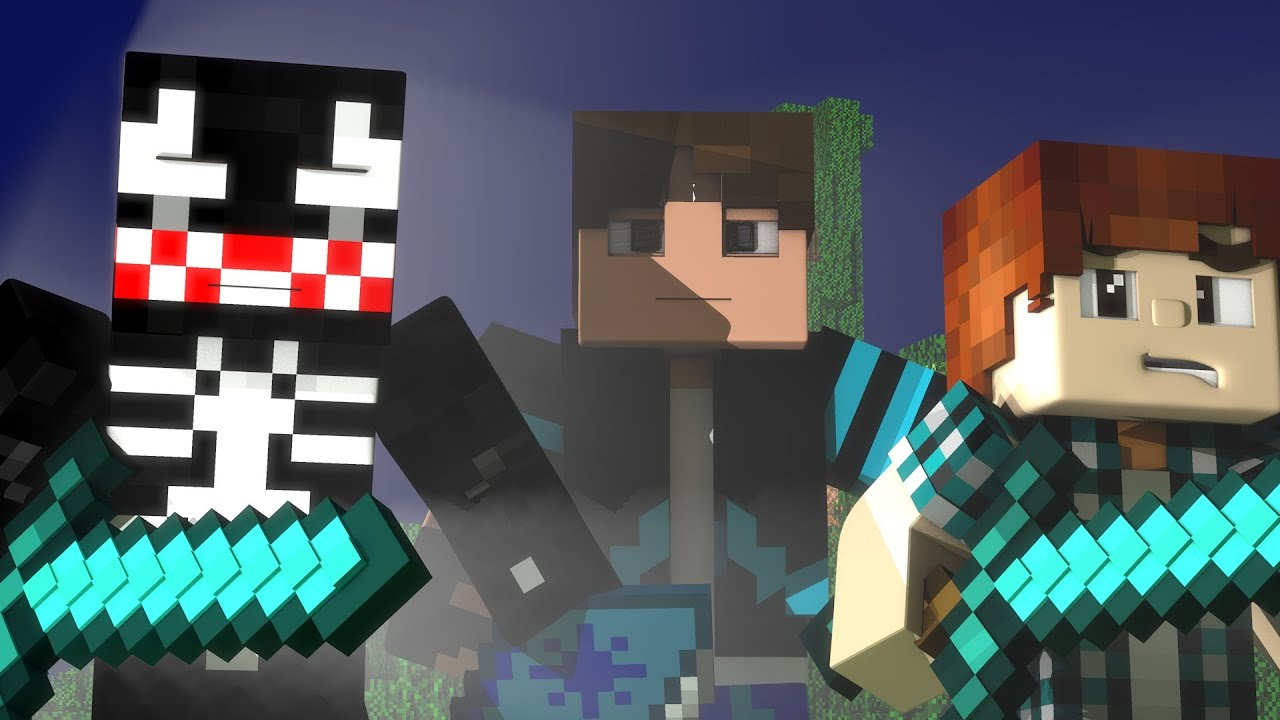 Minecraft Animações 'Enchanted' Encantada VERSÃO LEGENDADA EM PORTUGUÊS HD
