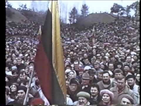 Sajudis In Lithuania (1990)