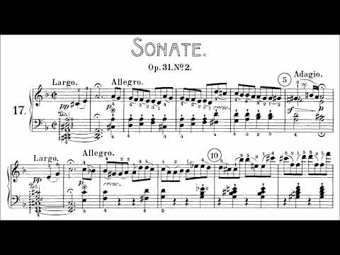 Beethoven: Sonata No17 in D Minor, Tempest Korstick, Grimaud, Lewis