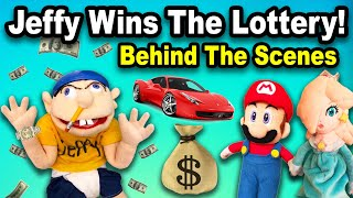SML Jeffy Wins The Lottery!!! | Behind The Scenes |