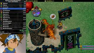Digimon World Randomizer - Any% (Set Seed) Speedrun in 57:06 (Current World Record)