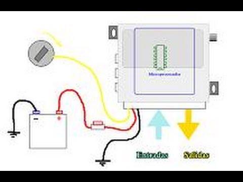 Curso de alarmas para automovil entradas vs salidas youtube for Instalacion de alarmas