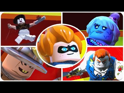 LEGO The Incredibles - All Secret Bosses