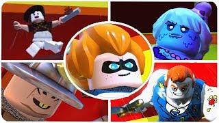 LEGO The Incredibles - All Secret Bosses