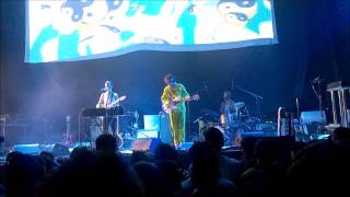 The Unicorns - Rocket Ship ( Daniel Johnston Cover) @ Barclays Center 8/23/14 Brooklyn, NY