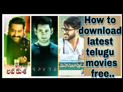 How to download latest movies telugu