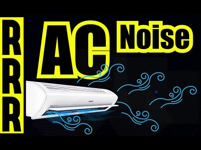 Relaxing Sleep ~ 8 Hours of Air Conitioner Fan Noise ~ AC ~ White Noise ~ Fan Sound