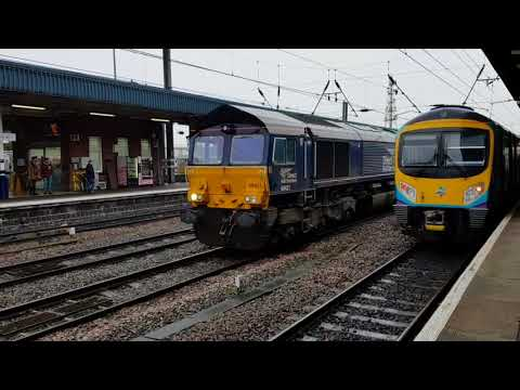 Doncaster Station Activity - 20th January 2018