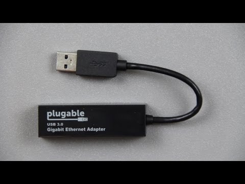 Plugable USB 3.0 to 10/100/1000 Gigabit Ethernet LAN Network Adapter