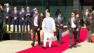 PM Netanyahu Receives Surprise Welcome in Delhi by Indian PM Modi