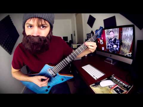 One Fret Song (bearded playthrough)