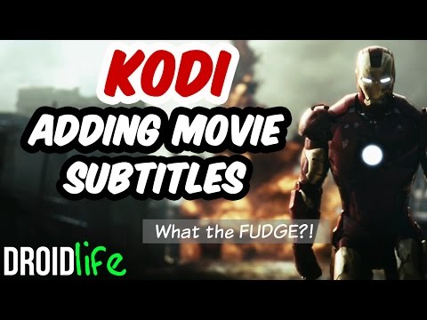 Kodi - Adding Subtitles to Movies and TV shows Video Tutorial