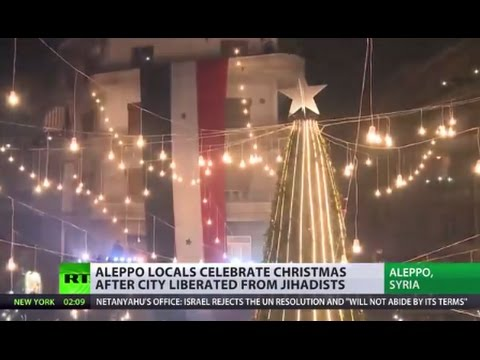 'We had 4 years of pain, of war & blood' Aleppo celebrates Christmas, shares stories of joy & loss
