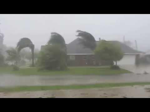 The Full Force of Hurricane Gustav - Morgan City, Louisiana