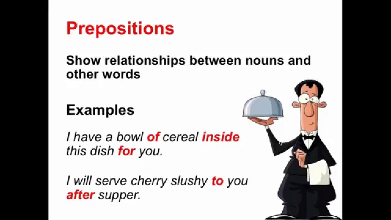 Preposition Worksheets and Activities – Ereading Worksheets Main Idea