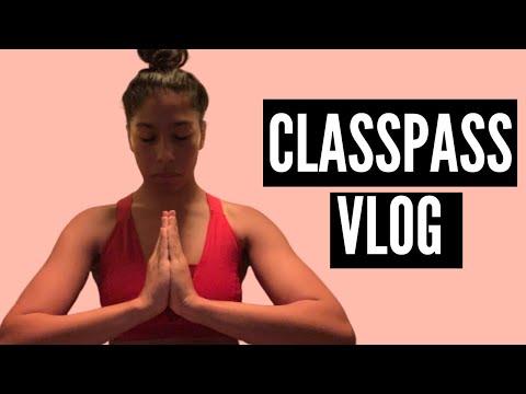 CLASSPASS VLOG | FOLLOW ME FOR A WEEK OF CLASSES | CLASSPASS SUPER USER