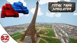 Total Tank Simulator #7 - Upadek wieży Eiffla!