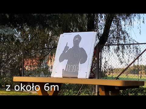 Test Pistoletu ASG Combat Zone COP SK