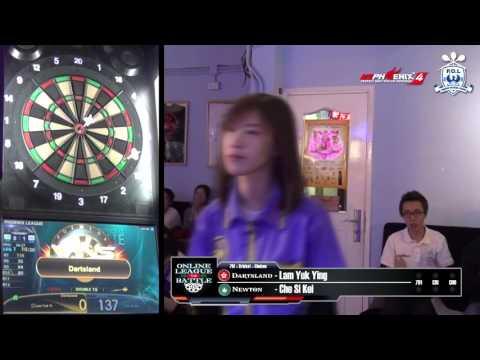 Online League Battle - Dartsland (HK) VS Newton (MO) Game 2