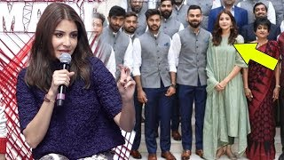 Anushka Sharma REACTS On Getting Trolled For Posing With Team India