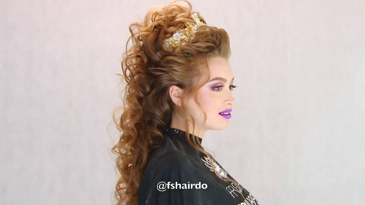 "Collection ""Queen Hairstyles"" 2016 Farrukh Shamuratov"