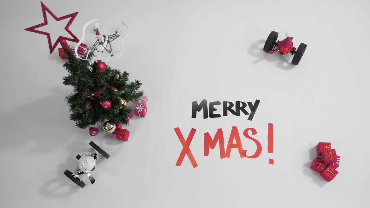 Parrot Minidrones evo MerryXmas