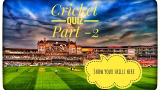 Cricket Quiz Part -2 | Cricket Funny questions with viewers in tamil  | CricTech