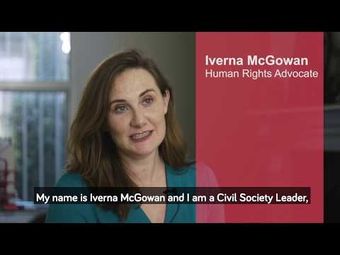 Iverna McGowan - Human Rights Advocate