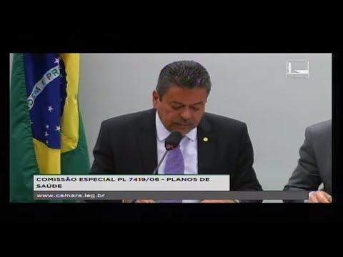 PL 7419/06 - PLANOS DE SAÚDE - Debate sobre os planos privados - 23/08/2017