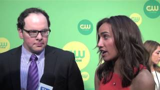 austin basis and nina lisandrello beauty and the beast cw upfronts