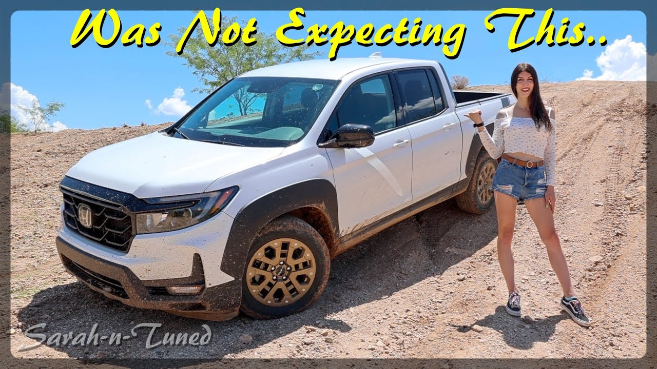 I Cannot Believe It Climbed That! // 2021 Honda Ridgeline Off-Road Review