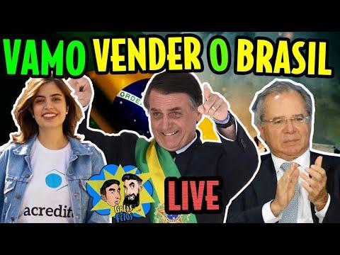 Tábata, Bolsonaro, Guedes e a venda do Brasil (LIVE) | Galãs Feios