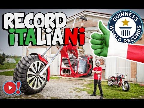 5 GUINNESS WORLD RECORDS VINTI IN ITALIA! | Videopazzeschi TV