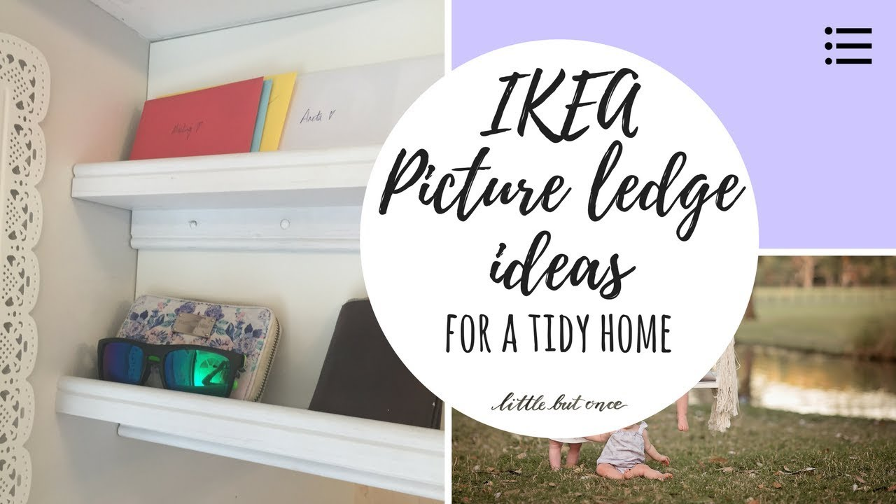 Ikea Lenschirme ikea picture ledge ideas how to utilise picture ledges in your home