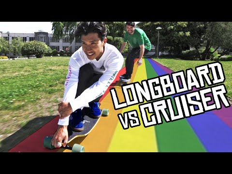 LONGBOARD VS CRUISER BOARD