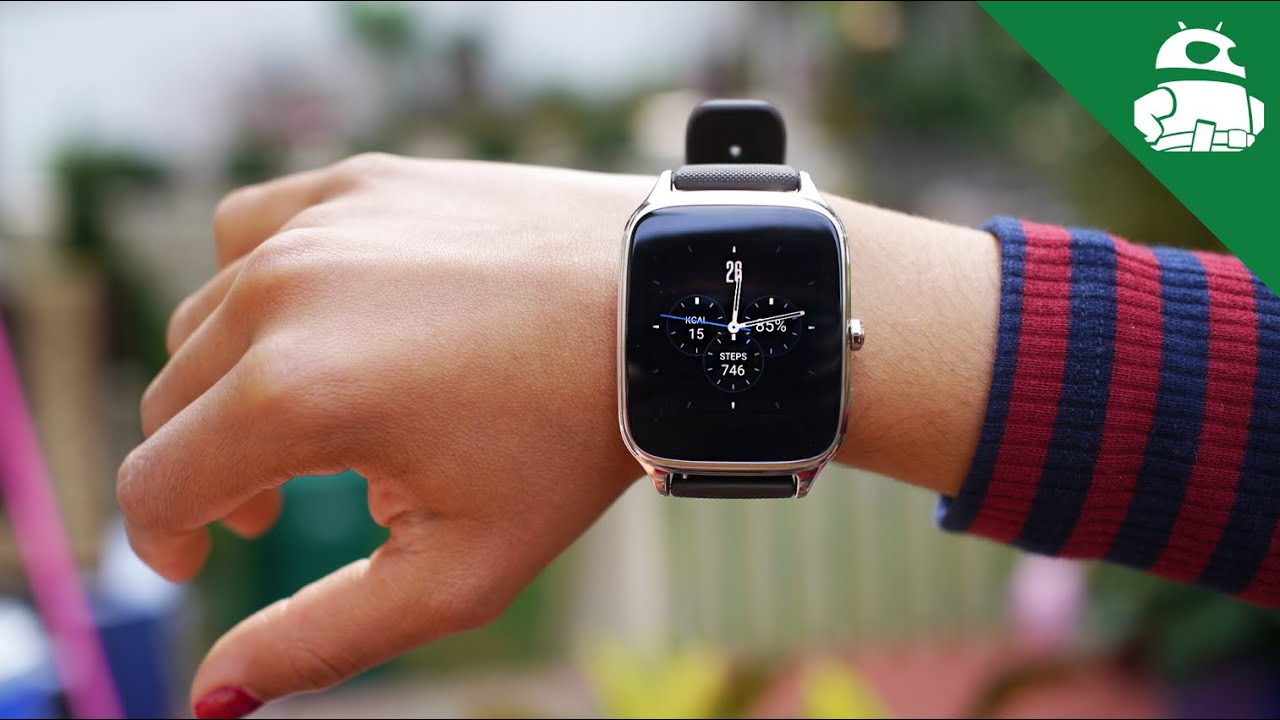 Asus ZenWatch 2 review!